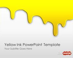 Free business 3d pie chart template for powerpoint is a free free yellow ink powerpoint template is an original slide design for powerpoint toneelgroepblik Choice Image