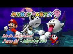 Mario Party 9: Modo Individual ep #3 Mánsion Boo