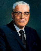 Harold B. Lee - Basic Facts--11th President of the Church of Jesus Christ of Latter-days Saints, served from 1972 until 1973