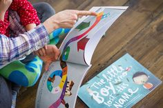 Create a personalized story book with baby's name.