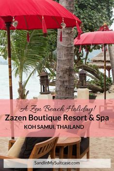 Most guests come to chill at Zazen Boutique Resort & Spa on Koh Samui, With spacious luxury bungalows, a lovely outdoor spa and a Zen vibe, Zazen is perfect for doing just that! Definitely one of the best boutique hotels in Koh Samui! Thailand Travel Tips, Asia Travel, Koh Samui, Samui Thailand, Amazing Destinations, Amazing Hotels, Travel Destinations, Travel Advice, Travel Stuff