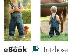 Ebook LatzHose Schnittmuster 56-134