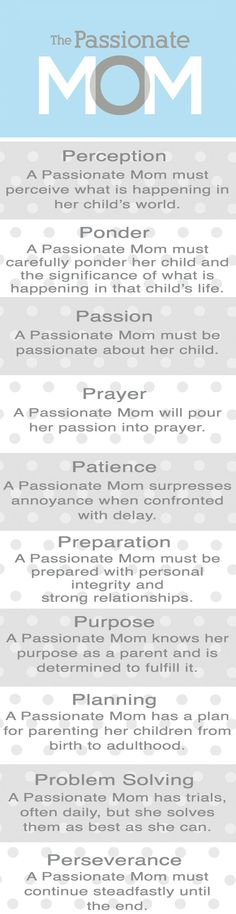 The Passionate Mom Bookmark