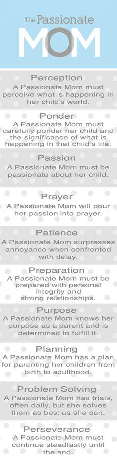 The Passionate Mom: The Passionate Mom Bookmark