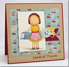 """#MyFavoriteThings """"Loads of Thanks"""" by Tammy Hershberger at Stamp Happy"""