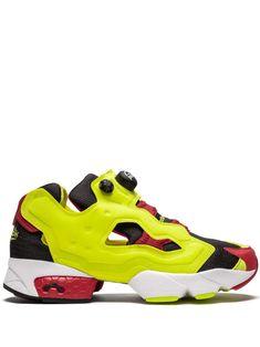 Reebok Instapump Fury Og Black/green/red In Yellow Reebok Pump Fury, Pump Shoes, Pumps, Asics Gel Noosa, Instapump Fury, Fresh Shoes, Running Shoes For Men, Sports Shoes, Black Men