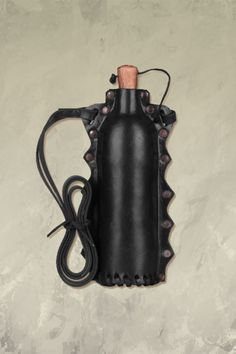 Leather Covered Water Bottle