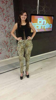 Look Coco Moda con la hermosa Paz Gonzalez de Unsion Tv