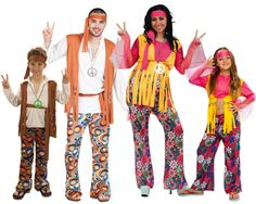Familia de Hippies #disfraces #carnaval #disfracesparagrupos