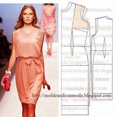 Moldes Moda por Medida: TRANSFORMAÇÃO DE VESTIDOS _45
