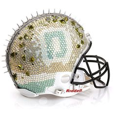 Dannijo's bedazzled helmet for Bloomingdale's x the NFL Foundation is absolutely beautiful | the Fashion Barbie