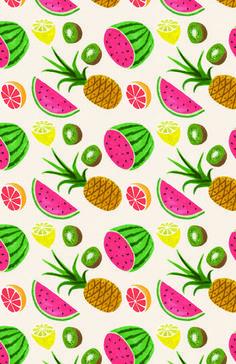 tropical pattern - Buscar con Google