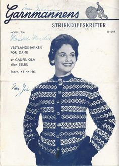 256 Vestlands-jakken Norwegian Knitting, Jumpers, Movies, Poster, Model, 2016 Movies, Films, Posters, Film Books