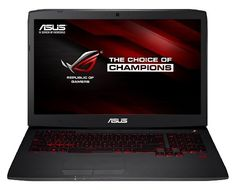 Asus ROG G751JT-T7178T 43,9 cm (17,3 Zoll mattes FHD ) Notebook (Intel Core i7-4720HQ, 8GB RAM, 1TB HDD+ 256GB SSD, NVIDIA GeForce GTX 970M, Blu-ray, Win 10 Home) schwarz