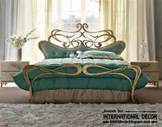 Romantic Wrought Iron Beds - Bing images