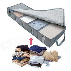 Visualization Under the Bed Storage Box - Grey