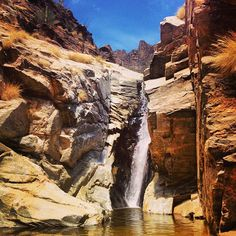 The Seven Falls hike is one of the most popular in Southern Arizona, and when the water level is right it is definitely one of the best for taking a dip. (Photo via Instagram By @chelseywade)