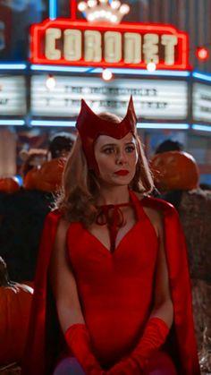 Marvel Films, Avengers Movies, Marvel Characters, Marvel Avengers, Scarlet Witch Costume, Scarlet Witch Marvel, Wanda Marvel, Witch Wallpaper, Marvel Background
