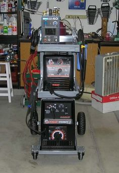 double wide welding cart with storage for O/A cart - WeldingWeb™ - Welding forum for pros and enthusiasts