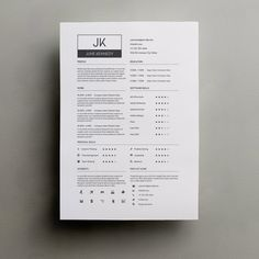 resume template word modern resume template by typematters on etsy - Resumes Templates Word