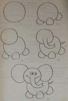 Gemacht für leicht kinder zeichnen Zeichnen leicht
