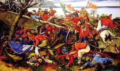 Garibaldi at the Battle of Ammiraglia Bridge, Italian War of Reunification