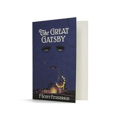 The Great Gatsby greeting card - $2
