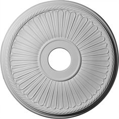 Ekena Millwork CM20BE1 20 1/8-Inch OD x 3 7/8-Inch ID x 1 7/8-Inch Berkshire Ceiling Medallion ** Discover this special product, click the image : home diy lighting