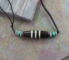 Dharmashop.com - Agate Chung Dzi Bead Necklace, $45.00 (http://www.dharmashop.com/agate-chung-dzi-bead-necklace/)