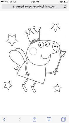 21 immagini incredibili di peppa pig disegni da colorare for Maialino disegno per bambini