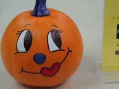 The cute girly pumpkin by HPU Libraries, via Flickr