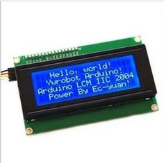 IIC/I2C 2004 LCD2004 LCD blue screen #Affiliate