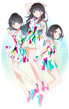 Tags: Anime, Perfume (Band), Ayano Oumoto, Yuka Kashino, Ayaka Nishiwaki, Flyco_
