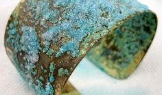 Brass patina - ammonia and salt