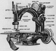 Willcox and Gibbs sewing machine - beautiful