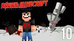 Drunk Minecraft #42 | TO THE MOON!! Drunk Minecraft, Minecraft Space, Space Program, Markiplier, Great Videos, Creepers, Videogames, Darth Vader, Moon