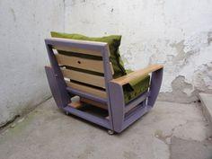 Custom pallet armchair | 1001 Pallets