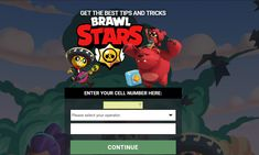 Get the best tips and tricks about Brawl Stars. Just enter your phone number and get best tips and tricks. News Games, Pc Games, Free Sweepstakes, Win Free Gifts, Clash Royale, Clash Of Clans, Mobile Game, Good Things, Stars