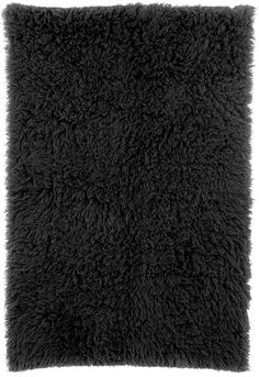 Features:  -Technique: Woven.  -Material: 100% New Zealand Wool.  -Origin: Greece.  Technique: -Hand woven/Shag and flokati.  Primary Color: -Black.  Material: -Wool.  Product Care: -These rugs can be