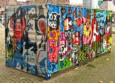 """Cornwall Design Season"" is part of a show of surprising 'design stories.' These stories are currently exhibited in iconic shipping containers throughout Cornwall. Each story has changed something, be it a mind, a moment, a town, or maybe even the world. Some are humbling, some are astonishing, some are both.  #oceanshipping www.shiplilly.com Lilly & Associates"