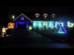 heres my 2012 lightorama s3 rgb led christmas light show sequenced to music