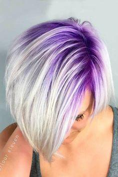 Very nice purple hair colors for short hair - Hair Style Pastel Purple Hair, Hair Color Purple, Cool Hair Color, Hair Colors, Pastel Blonde, Short Purple Hair, Short Blonde, Blonde Hair Purple Roots, Short Pastel Hair