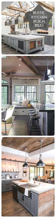 Cosy Home Interior New Rustic Kitchen Decoration Ideas Home Interior New Rustic Kitchen Decoration Ideas Interior Modern, Interior Simple, Interior House Colors, Interior Plants, Modern Decor, Cheap Rustic Decor, Rustic Kitchen Decor, Cheap Home Decor, Diy Kitchen
