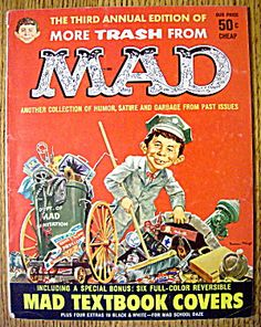 Mad Magazine (3rd Annual Edition) 1960 More Trash (Image1)