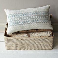 Allegra Hicks Butterfly Pillow Cover   west elm