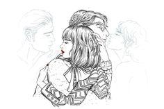 Un #SanValentín ilustrado © Sara Herranz Más