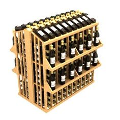 Commercial 4 Shelf Aisle 300 Wine Rack - Width 46 1/16 inches, Height 47 13/16 inches, Depth 36 inches, Bottles 300, Columns 10. Find more wine racks at this page http://www.winecellarspec.com/modular-wine-racks-texas-kessick/. Wine Cellar Specialists  4421 Cedar Elm Circle Richardson, TX 75082  Toll Free: 866-646-7089  Texas Office: 972-454-0480  Illinois Office: 773-234-0112