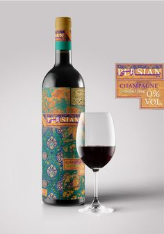 Persian Champagne (Concept) on Packaging of the World - Creative Package Design Gallery