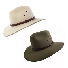 96bfe5f7e2c4a eBay  Sponsored Akubra Coober Pedy Traditional Australian Made Bush Cowboy  Hat Ass Colors Size 5