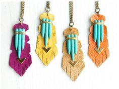 Un tutoriel qui vous montre, pas à pas, comment réaliser un joli pendentif totem !